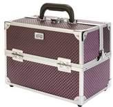 S.O.H.O New York Diamond Hard Beauty Case, Purple