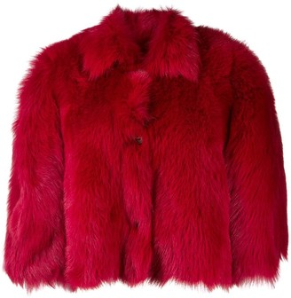 RED Valentino Oversized Cropped Jacket