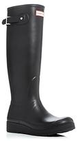 Hunter Tall Wedge Sole Rain Boots