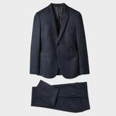 Paul Smith Men's Slim-Fit Slate Blue Wool-Cashmere Suit
