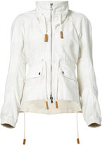 Derek Lam zipped jacket - women - Cotton/Linen/Flax - 36