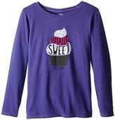 Life is Good Sweet Cupcake Long Sleeve Tee (Little Kids/Big Kids)