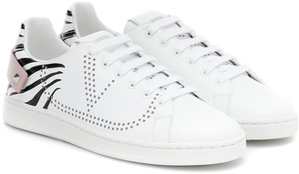 Valentino Garavani Backnet leather sneakers