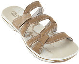 Clarks As Is Lightweight Multi-strap Slide Sandals - Brinkley Lonna