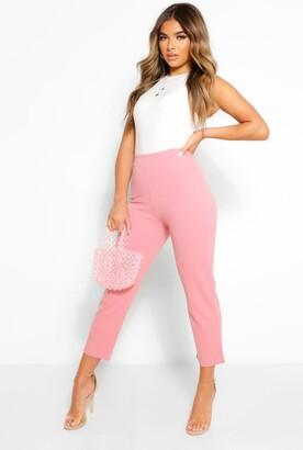 boohoo Petite Tailored Pants