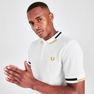 Fred Perry Men's Abstract Tipped Polo Shirt