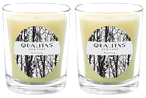 Qualitas Candles Nutmeg Beeswax Candles (Set of 2) (6.5 OZ)