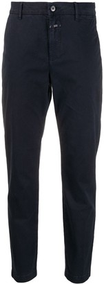 Closed Slim Fit Tapered Trousers
