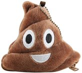 ABC Poo Pillow Wallet, Emoji Emoticon Poo Pillow Plush Soft Coin Purse Wallet Gift