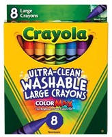 Crayola 8ct UltraClean Washable Large Crayons - Multicolor