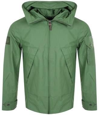 Pretty Green Lightweight Hooded Jacket Green