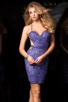 Scala 48544 Dress in Hyacinth