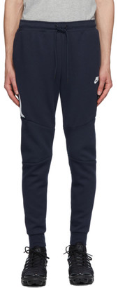 Nike Navy Sportswear Tech Fleece Jogger Sweatpants