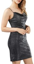 Topshop Women's Sparkle Body-Con Dress