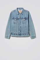 Weekday Single WD Blue Denim Jacket - Blue
