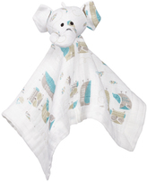 Aden Anais Blue Elephant Musy Mate Lovey Blanket