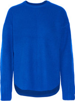 Alexander Wang Ribbed wool and cashmere-blend sweater