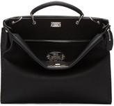 Fendi Black Peekaboo Briefcase