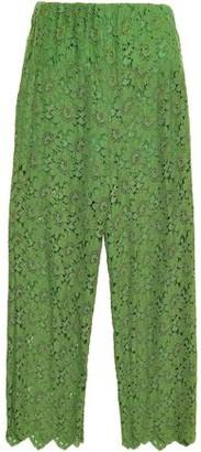 Gucci Corded Lace Wide-leg Pants