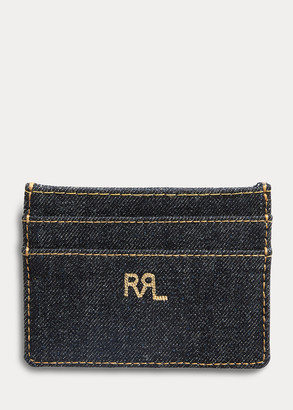 Ralph Lauren Indigo Denim Card Holder