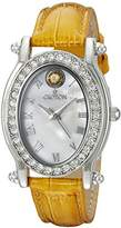 Croton Women's CN207537YLMP Balliamo November Birthstone Analog Display Quartz Yellow Watch