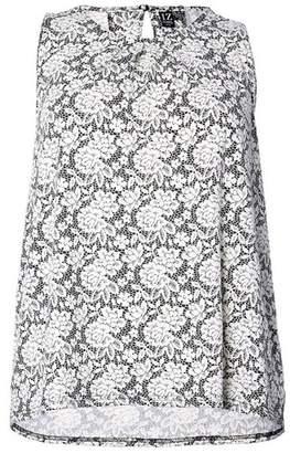 Dorothy Perkins Womens *Izabel London Curve White Sleeveless Top, White