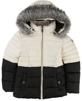 Karl Lagerfeld Two-Tone Puffer Jacket, Size 4-5