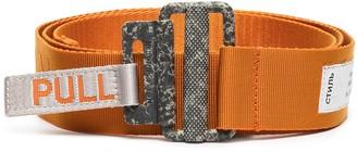 Heron Preston Grosgrain Logo Tape Belt