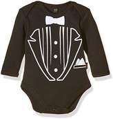 Rockabye Originals Baby Tuxedo Bodysuit,6-12 Months