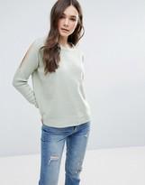 Brave Soul Cold Shoulder Sweater