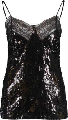 Michael Kors Collection Lace Trim Camisole