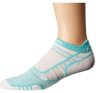 Thorlos Experia Pro Lite No Show Tab Single Pair (Spearmint) No Show Socks Shoes