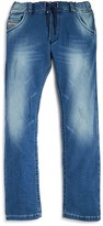 Diesel Boys' Distressed Stretch Jogger Jeans - Sizes 4-16