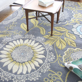 Amy Butler Lacework Rug in Blue
