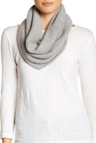 Portolano Light Grey Cashmere Neck Warmer