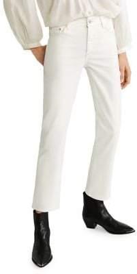 MANGO Regular Straight-Fit Jeans