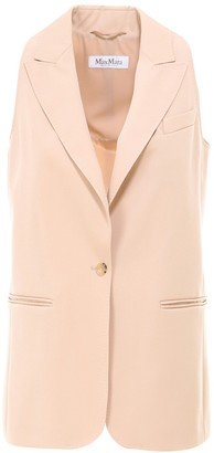 Max Mara Single Breasted Waistcoat
