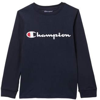 Champion Heritage Long Sleeve T-Shirt (Big Boys)