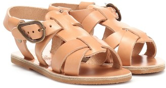 Ancient Greek Sandals Kids Little Leonidas leather sandals