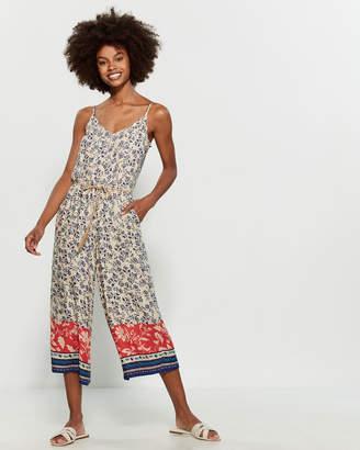 Jessica Simpson Jackie Printed Jumpsuit