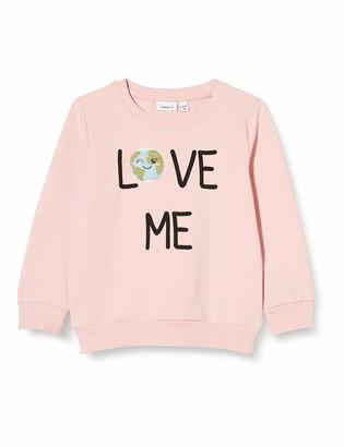 Name It Girls' NMFLAPLANET Sweat UNB Longsleeve T-Shirt