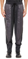 3.1 Phillip Lim MEN'S COMBO LOUNGE PANTS-DARK GREY SIZE S