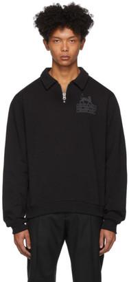 Tiger of Sweden Black Ocean Half-Zip Sweater