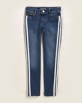 DL1961 Girls 7-16) Track Stripe Chloe Skinny Jeans