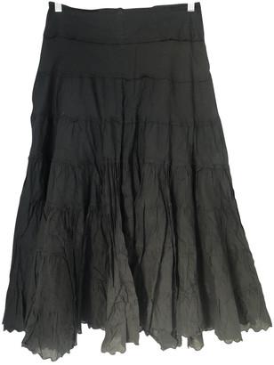Les Petites Black Cotton Skirt for Women
