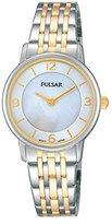 Pulsar mujer-reloj Analog Quartz Stainless Steel Plated prw027 X 1