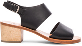 Rachel Comey Leather Tulip Sandals