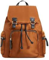 MANGO Satined backpack
