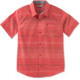 Calvin Klein Stripe Shirt, Little Boys (2-7)