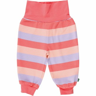 Fred's World by Green Cotton Baby Girls' Multi Stripe Pants Trouser